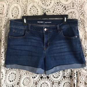Old Navy boyfriend short with cuff